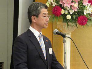 代表幹事に就任した鈴木隆一氏