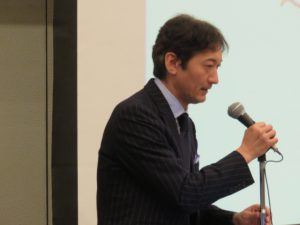 東北経済産業局地域経済部長 岩瀬恵一氏