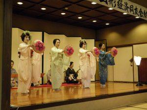 山形舞子の踊り